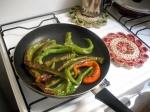 Frying Peperoni