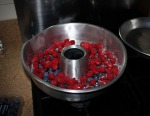 Berries in Baking Tin