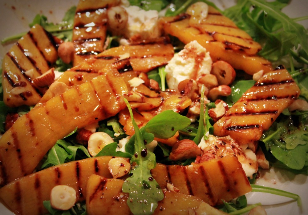 Pumpkin, Ricotta and Hazelnut Salad