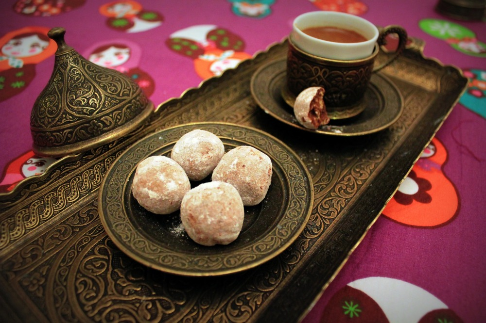 Hazelnut Frangelico Truffles