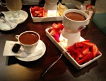 Turkish Coffee with Mastic & Chocolate Fondue
