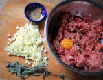 Stuffed Burger Ingredients