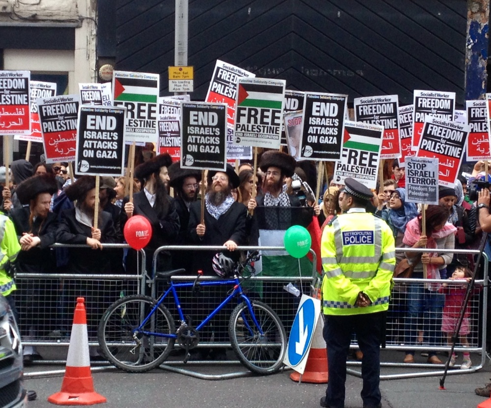 Free Palestine London Protest